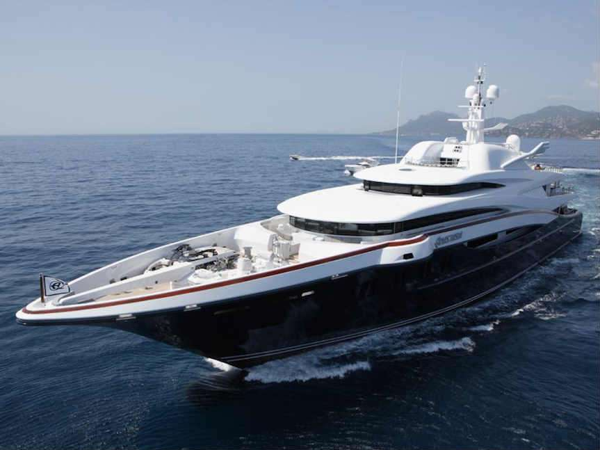 M Y Anastasia The Largest Superyacht Ever To Be Displayed At The